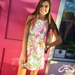 Lilly Pulitzer Rosie Square Neck Shift Dress